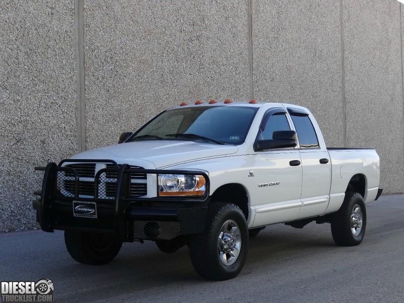 diesel truck list for sale 2006 dodge ram 2500 quad cab 4x4 slt 5 9l cummins diesel low miles. Black Bedroom Furniture Sets. Home Design Ideas