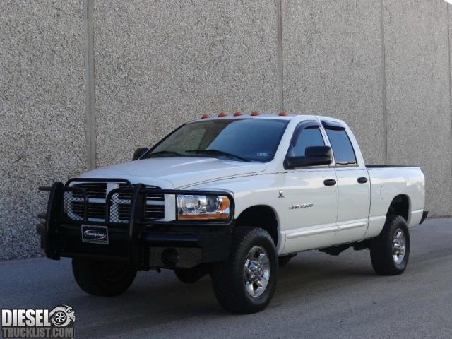 diesel truck list for sale 2006 dodge ram 2500 quad cab 4x4 slt 5 9l cummins diesel low miles. Black Bedroom Furniture Sets. Home Design Ideas