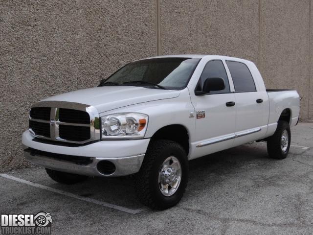 Diesel Truck List - For Sale: 2008 Dodge Ram 2500 4WD Mega ...