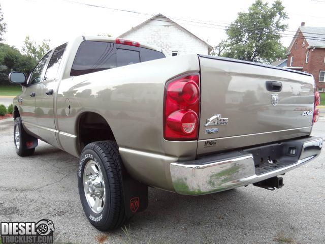 Diesel Truck List For Sale 2008 Dodge Ram 2500 Hd 4x4