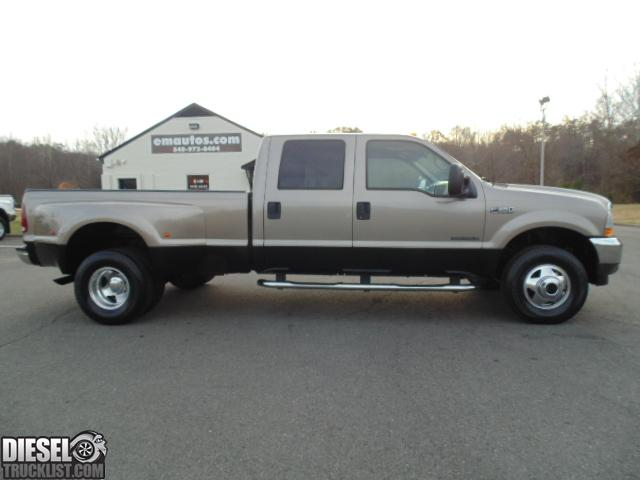 diesel truck list for sale 2002 ford f350 lariat crew cab 4x4 long bed dually 7 3l. Black Bedroom Furniture Sets. Home Design Ideas