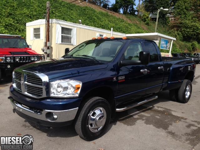 diesel truck list for sale 2009 dodge ram 3500 slt quadcab dually 6 speed manual. Black Bedroom Furniture Sets. Home Design Ideas