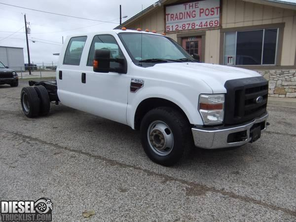 diesel truck list for sale 2008 ford f 350 powerstroke diesel dually cab chasis. Black Bedroom Furniture Sets. Home Design Ideas