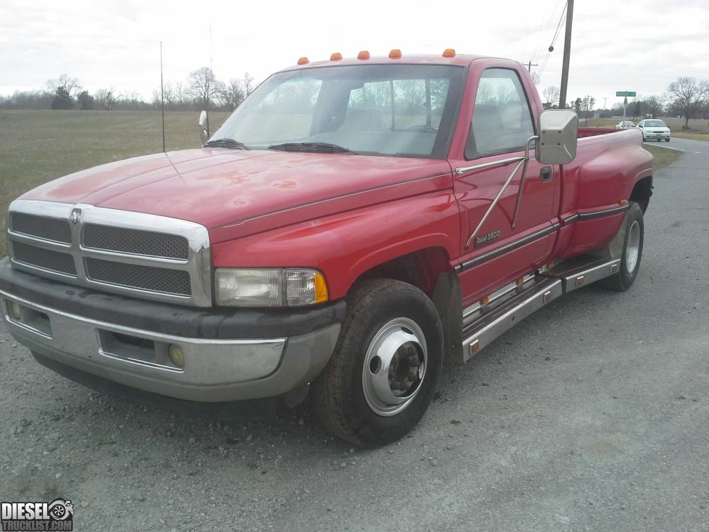 diesel truck list for sale 95 dodge ram 3500 cummins dually pickup. Black Bedroom Furniture Sets. Home Design Ideas