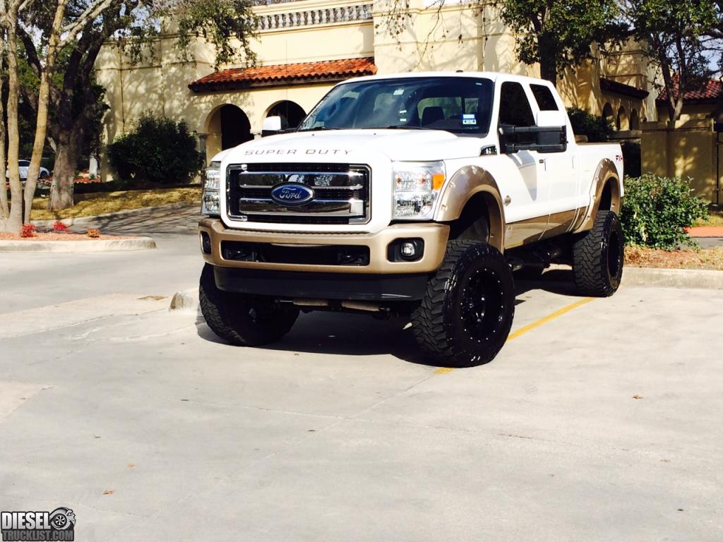 Black f250 lifted