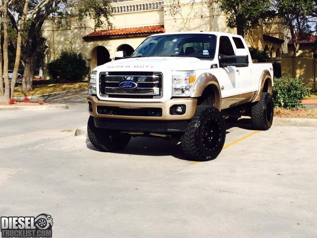 Diesel Truck List - For Sale: 2011 Ford F250 King Ranch Lifted