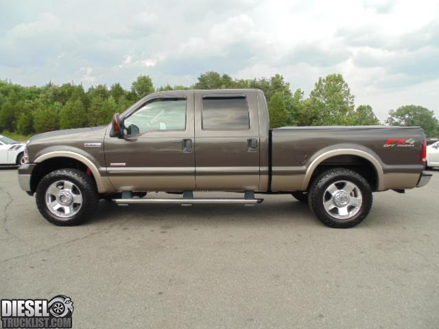 diesel truck list for sale 2006 ford f250 lariat fx4 crew cab 4x4 short bed diesel. Black Bedroom Furniture Sets. Home Design Ideas
