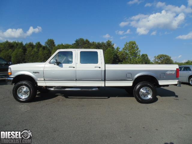 Diesel Truck List - For Sale: RUST FREE!!! 1997 Ford F350 XLT Crew ...