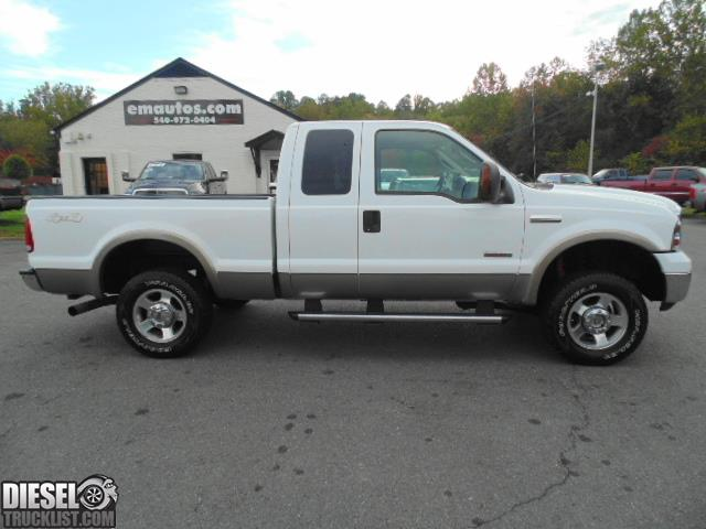 diesel truck list for sale 2005 ford f250 lariat extended cab short bed powerstroke diesel. Black Bedroom Furniture Sets. Home Design Ideas