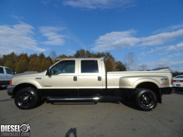 diesel truck list for sale rust free 2001 ford f350 lariat crew cab 4x4 long bed dually with. Black Bedroom Furniture Sets. Home Design Ideas