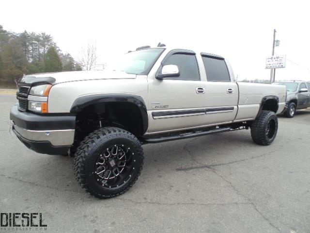 diesel truck list for sale lifted 2007 chevrolet silverado 2500hd classic lt crew cab 4x4. Black Bedroom Furniture Sets. Home Design Ideas