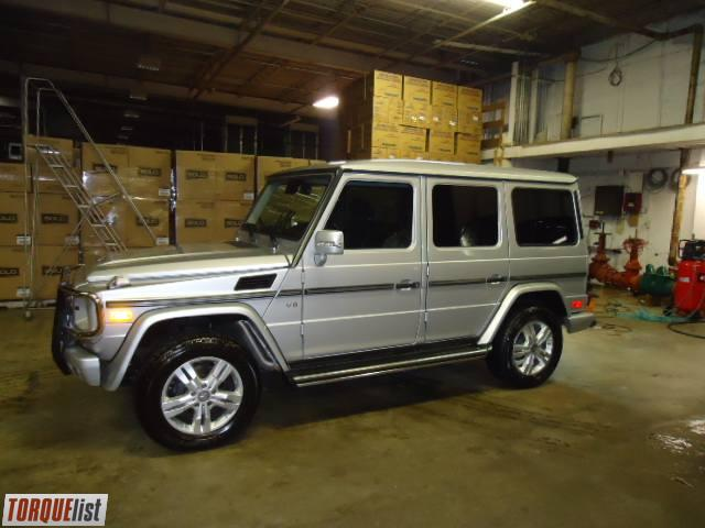 torquelist for sale 2009 mercedes benz g wagon. Black Bedroom Furniture Sets. Home Design Ideas