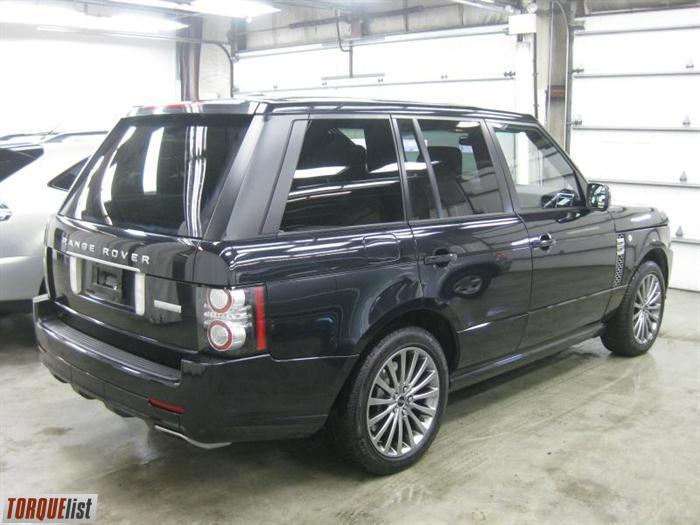TORQUELIST  For Sale 2012 Land Rover Range Rover Supercharged