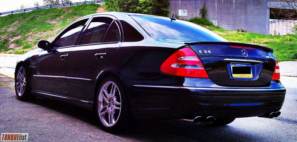 Torquelist For Sale 2004 Mercedes Benz E55 Amg