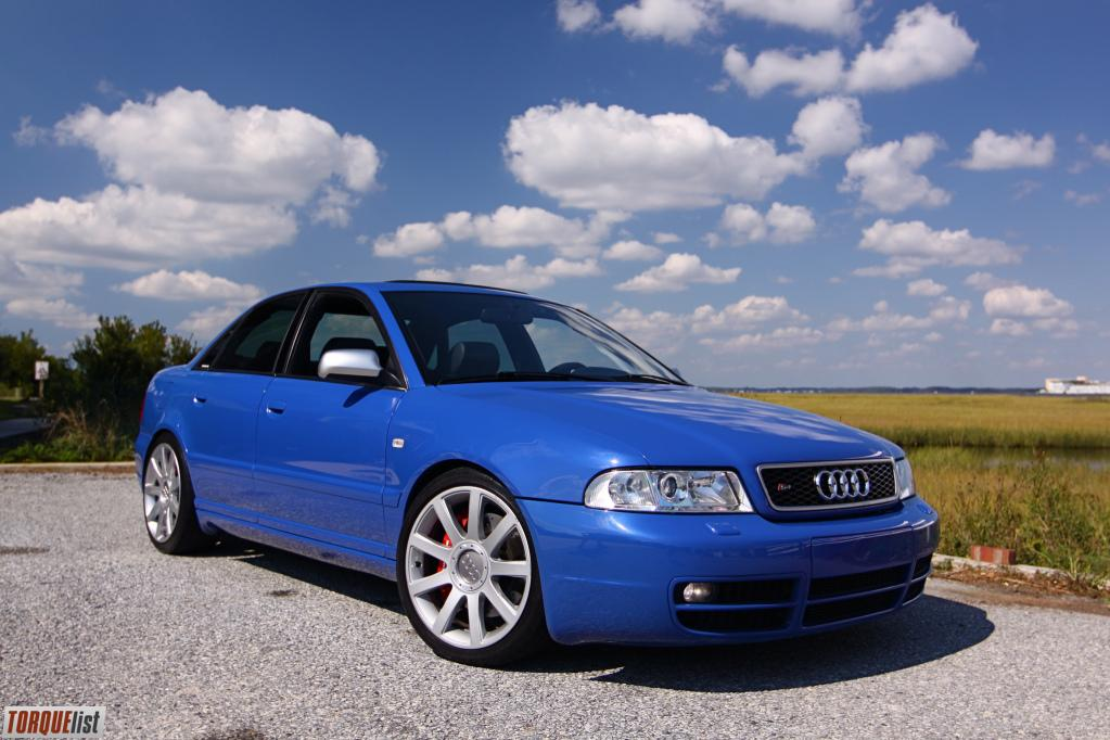 Torquelist - For Sale  2001 Audi S4 - Nogaro Blue