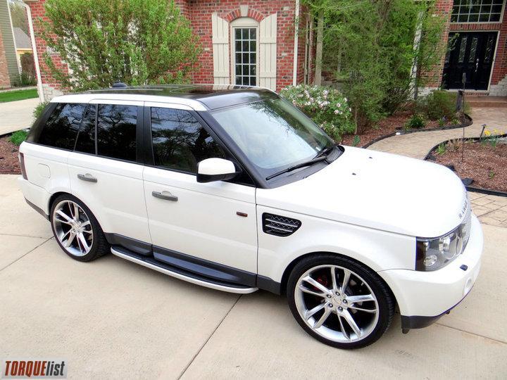 Torquelist For Sale 2008 Range Rover Sport Hse White 22