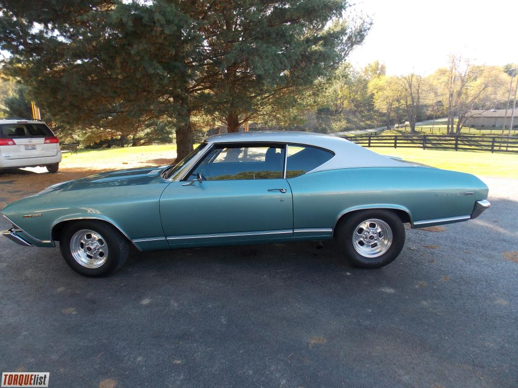 Torquelist For Sale 1969 Chevelle Malibu Street Strip