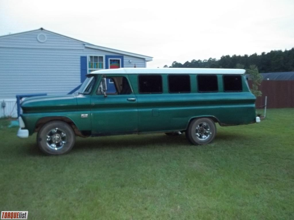TORQUELIST - For Sale: 66 chevy panel van