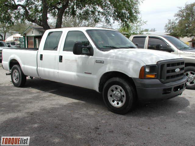 TORQUELIST  For Sale 2005 Ford F250XL Crew cab  Powerstroke