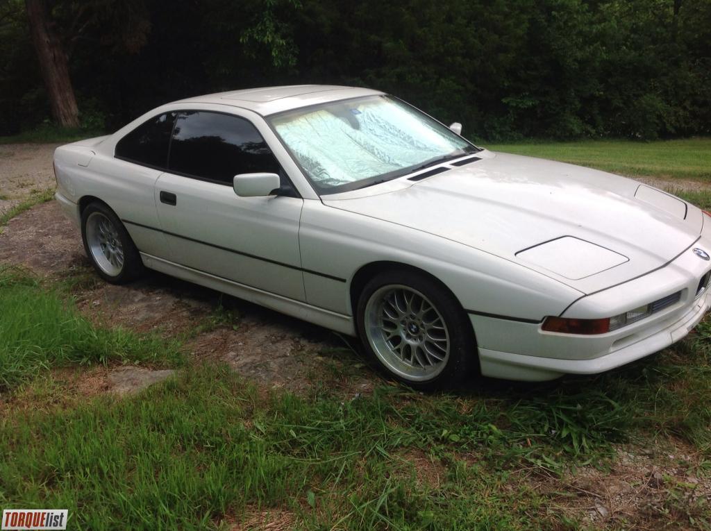 1993 bmw 850 ci 1993 bmw 850ci v 12 auto 162 000 miles white with