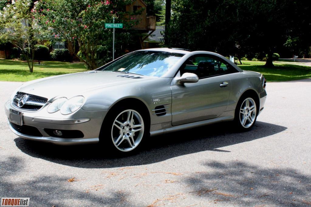 Torquelist for sale 2003 mercedes benz sl55 amg for Mercedes benz sl55 amg