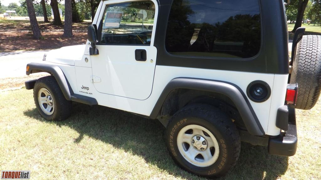 ... Jeep Wrangler White Hardtop For Sale