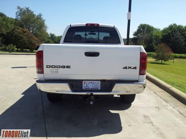 Torquelist For Sale 2002 Dodge Ram 1500 Quad Cab 4x4