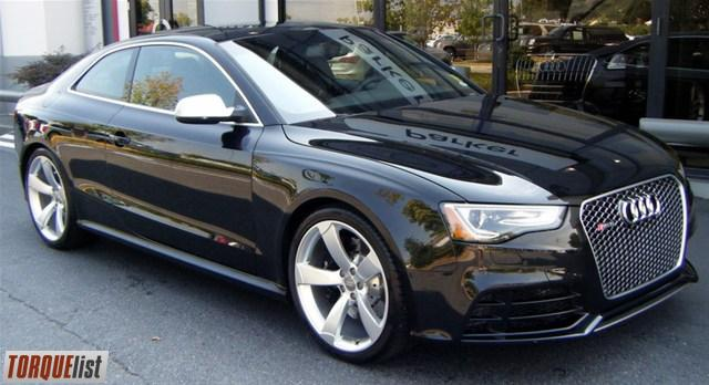 torquelist for sale 2013 audi rs 5 coupe. Black Bedroom Furniture Sets. Home Design Ideas