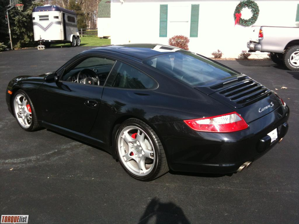 torquelist for sale 2007 porsche 911 carrera s. Black Bedroom Furniture Sets. Home Design Ideas