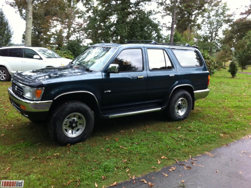 torquelist for sale 1995 toyota 4runner 4x4 limited. Black Bedroom Furniture Sets. Home Design Ideas