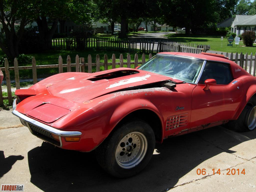 torquelist for sale 1970 corvette stingray. Black Bedroom Furniture Sets. Home Design Ideas