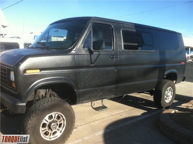 4x4 4x4 Ford Van For Sale