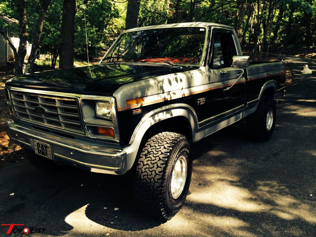 torquelist for sale 1984 f150 4x4 shortbed 4 speed. Black Bedroom Furniture Sets. Home Design Ideas