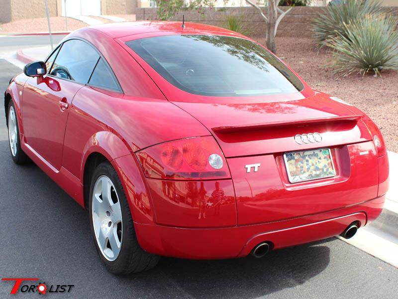 torquelist for sale red 2000 audi tt quattro. Black Bedroom Furniture Sets. Home Design Ideas