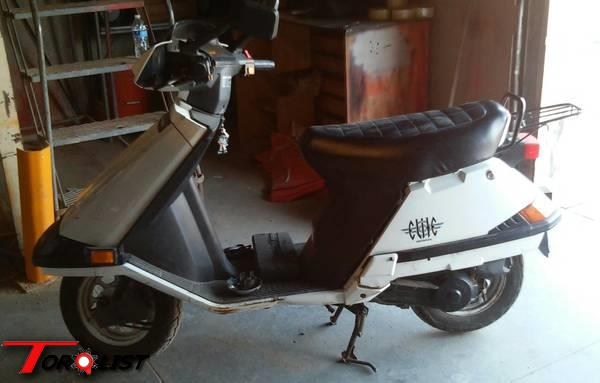 torquelist for sale trade 1996 honda elite 80 scooter. Black Bedroom Furniture Sets. Home Design Ideas