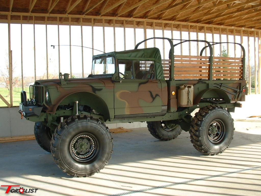 Torquelist For Sale Modified Military Jeep M715 4x4