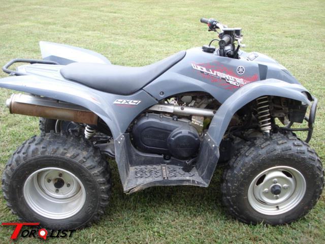 Torquelist for sale 2007 yamaha wolverine 450 4x4 for Yamaha wolverine 450 for sale