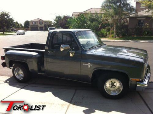 TORQUELIST - For Sale: 1986 Chevy step side truck