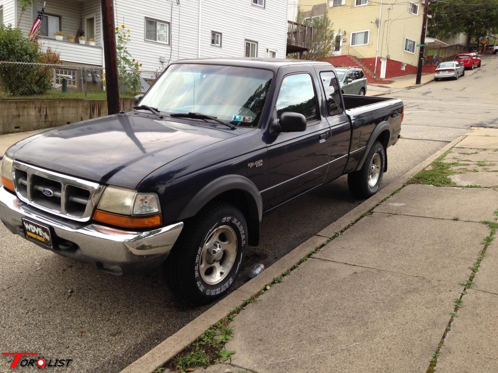 torquelist for sale 1999 ford ranger 4x4 6 cyc auto body solid. Black Bedroom Furniture Sets. Home Design Ideas